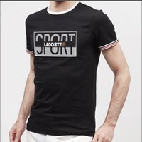 Wholesale led square panel for sale - Group buy 2019New men s designer autumn and winter brand men s letter printing T shirt lead the trend of men s street fashion T shirt