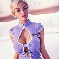 video de silicona sexual al por mayor-Envío gratis original 165 cm video japón mujeres realista silicona 3d gran coño sexo muñeca para hombres