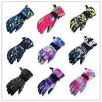 Wholesale ski gloves purple for sale - Group buy Men Women Ski Gloves Snowboard Gloves Ultralight Waterproof Winter Sonw Warm Fleece Motorcycle Snowmobile Riding Gloves