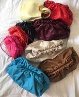 kadınlar için parti cüzdanlar toptan satış-H en yeni Bulut çanta inek derisi beraberlik dize debriyaj kadın lüks omuz çantası yüksek kaliteli tasarımcı çanta büyük beden tarafça