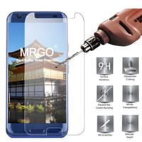 handy schutzfolie großhandel-MRGO gehärtetes Glas für Doogee BL5000 Displayschutzfolie Schutzfolie 2.5D 9H, auf Handy für Doogee BL5000 Glas