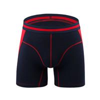 boxers modais xl venda por atacado-Boxer Modal dos homens Shorts Underwear Clássico Longo Leg Rich Boxer Antiabrasão Quente