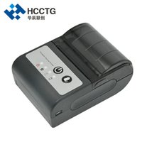 impresoras de billetes al por mayor-Proveedor de China Precio barato Mini 58 mm Bill portátil inalámbrico Bluetooth de mano portátil Impresora térmica de recibos HCC-T2P