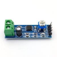 módulos amplificadores de audio al por mayor-LM386 Potencia de Audio Módulo amplificador de potencia del amplificador 12V Mono Juntas LM386 Amplificador de sonido con 200 veces la ganancia