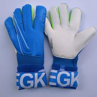 оригинальная перчатка оптовых-2019 Real Logo Letter VG3 Футбольные перчатки для вратарей Оригинальные вратарские перчатки Футбольные вратарские перчатки Bola De Futebol Перчатки Luva De Goleiro