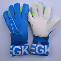 futbol original al por mayor-2019 Real Logo Letter VG3 Soccer Goalkeeper Gloves Original Goal Keeper Gloves Goalie Football Bola De Futebol Gloves Luva De Goleiro