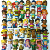 Wholesale little peoples toys for sale - Group buy Little Mini in People Random People Worker Child Mix Figures Statue Toy Dolls Xmas Gift