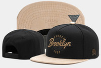Wholesale cayler son brooklyn hat for sale - Group buy Cayler Sons Snapback Brooklyn Embroidered Baseball Cap Snapbacks Flat Visor Bill Adjustable Caps Sports Fitted Hat Fashion Hip hop Hats