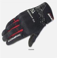 guantes de protección de verano al por mayor-2017 verano moda transpirable motocicleta protección guante motocross moto moto guante hombres road racing guantes