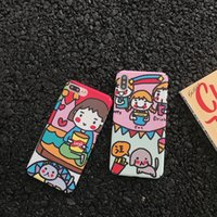 Wholesale cover for cell phone apple cat for sale – best For Iphone Xr Phone Cases Cartoon Cute Girl Cat And Dog Side Pattern Covering Cell Phone Case For Iphone Plus