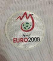 euro spiele großhandel-Lextra 2008 Euro Patch für Game Sleeve Soccer Patch Flocking Abzeichen