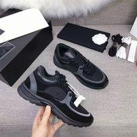 Wholesale wide dress shoes men for sale - Group buy New Paris Men Women Platform Trainer Slip On Casual Shoes Sneakers Luxury Designers Comfort Leather Mens Womens Leisure Dress Chaussu xy0412