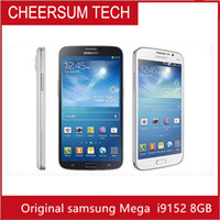 Wholesale mega cell phones samsung resale online - Refurbished Samsung Galaxy Mega inch I9152 i9152 SmartPhone GB GB MP WIFI GPS Bluetooth WCDMA G G Unlocked Cell Phone