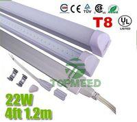 reemplazar bombilla al por mayor-CE UL integrada de 1,2 m 4 pies T8 22W llevó el tubo 96Leds luz 2400LM de iluminación LED de reemplazo de la bombilla fluorescente tubos de la lámpara + Garantía 3Years X25