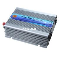 inversor de la red de energía solar al por mayor-Freeshipping 500 W vatios Micro Grid Tie Inverter DC 22-60 AC 230V Energía solar onda sinusoidal pura inversor senoidal pura micro rejilla empate inversor