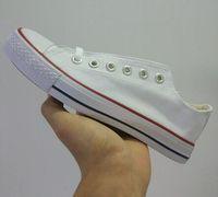 ayakkabı düşük fiyatlar erkekler toptan satış-Fabrika fiyat promosyon fiyat! Femininas kanvas ayakkabılar kadınlar ve erkekler, yüksek / Düşük Stil Klasik Kanvas Ayakkabılar LN678 Sneakers Tuval Ayakkabı