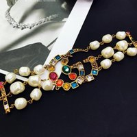 Wholesale crystal korean jewelry sets for sale - Group buy Korean version of love bracelet girl series simple colorful personality creative student novice jewelry for women