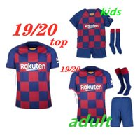 Wholesale thai tops for sale – custom top qulity thai soccer jersey Square home adult kits maillots de football kids football shirt Customized