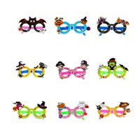 Wholesale big glasses props for sale - Group buy Halloween Glasses Big Exaggerated Funny Glass Halloween Party Props Decorations Creative Personality Funny Glasses Parody Toys new GGA2685