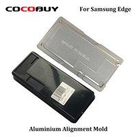 ingrosso stampaggio in alluminio-A + 1 Set di precisione in alluminio Allineamento muffa e muffa laminazione per Samsung Nota 8 S8 S8 Inoltre Laminator ristrutturazione