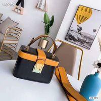 ingrosso borsa della scatola metallica delle donne-borsa a tracolla delle borse delle donne tote bag Sugao progettista Rosa 2019 nuovo stile lettera metallo di alta qualità sulla cintura con borse moda contenitore di borsa