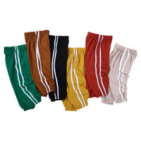 Wholesale pant s babies for sale - Group buy Kid Toddler Baby Boy Girl Solid Long Leggings Pants Joggers Bloomers Trouser Bottoms Clothes Cotton Linen Casual Pencil Pants