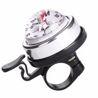 Wholesale bicycle bells compass for sale - Group buy Bicycle Bell Compass Bike Bell Mountain Bicycle Handlebar Safety Alarm Ring Bike Accessories Cycling Compass Horn mm
