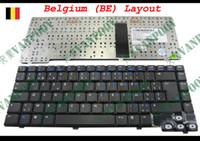 laptop hp pavilhão venda por atacado-Novo AZERTY Notebook teclado Do Laptop para HP Pavilion dv1000 Preto Bélgica BE Versão - MP-03296B0-920, AECT1TPB115, CT1A, 7F0624