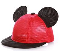 ördek dili kapağı toptan satış-2019 yeni moda 1-3 yaşında bebek çocuk ördek dil beyzbol şapkası visor bebek ilkbahar ve sonbahar sevimli gelgit kap