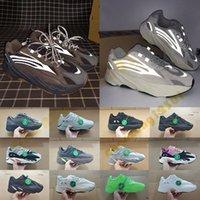 spor çorabı adamı toptan satış-Stok X Etiket Kutusu 700 Vanta Statik 3 M Yansıtıcı Erkekler Desigenr Sneakers Siyah Vanta Dalga Koşucu Bayan Bayanlar Spor Rahat Koşu ayakkabı