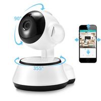 ingrosso sicurezza della telecamera-Home Security Telecamera IP Wireless Smart WiFi Telecamera WI-FI Audio Record Sorveglianza Baby Monitor HD Mini telecamera CCTV V380