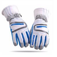 хоккейные перчатки оптовых-Высокое качество лыжные перчатки водонепроницаемый теплый унисекс хоккейные перчатки зима открытый спорт горные лыжи сноуборд для женщин малыш