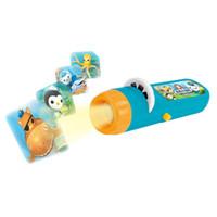 Wholesale flashlight sky resale online - New Arrival Children Kids Submarine Projector Flashlight Star Sky Projecton Lamp Coax Baby Sleep Led Luminous Toys