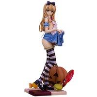 modelo japonês adultos venda por atacado-Alphamax Skytube Alice Figuras Anime Japonês Sexy Adulto Brinquedos Brinquedo De Ação Pvc Modelo Coleção Para O Natal / Presente de aniversário