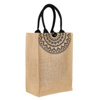 льняные тотализаторы оптовых-Hot Sale Women's Ladies Linen Shoulder Shopping Tote Beach Satchel School Handbag Bags