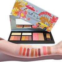nationale produkte großhandel-Hohe Qualität 10 Farbe Lidschatten Platte Höhepunkte Nationale Produkte Make-up Beauty Make-up Set Laub Einhorn