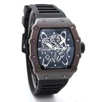 ingrosso la migliore marca orologi per le donne-Migliore affare 2018 Luxury brand Fashion Skeleton Orologi da uomo o da donna Skull sport orologio al quarzo regalo orologi da polso cool