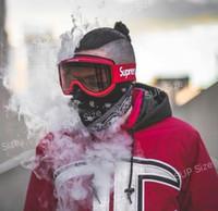 máscara de óculos venda por atacado-Legal FW15 Sup Óculos de Proteção Óculos de Esqui na Motocicleta Óculos de proteção Óculos de Motocross Vermelho de Corrida de Proteção de Ciclismo Máscara Para Paintball CS Sports