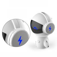милый динамик tf оптовых-Новые Dingdang симпатичные M10 портативный робот Bluetooth динамик стерео громкой связи с Power bank AUX TF MP3 музыкальный плеер