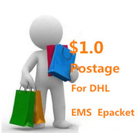 Paid EMS bag fast DHL goods increase freight ePacket special custom size box consulting service fee