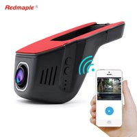 Wholesale dvr recorder universal resale online - New HD P Car Wifi DVR Recorder Universal Camera Degree Support APP Control GPS Night Version