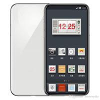 goophone 16gb 4g оптовых-5.8 дюймовый Goophone X 1 ГБ RAM 16 ГБ ROM MTK6580 QuadCore 8MP FaceID Беспроводная зарядка 3G WCDMA Andriod Телефон Герметичная коробка Поддельные 4G отображается
