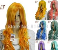 Wholesale hair daily full wig for sale - Group buy LL Chic Women Curly Bangs Synthetic Hair Full Wig Daily Party Cosplay Long Wigs can choosSDGVDSGBS DVRFNZVZVZVZVCIFBT6 Fe