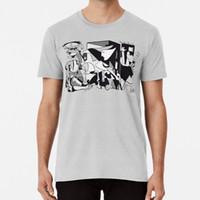 Wholesale black white oil art for sale - Group buy Pablo Guernica Artwork Shirt Art Reproduction T shirt for anti war paintings cubism surrealism oil on canvas