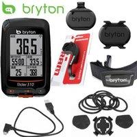 monitor de frequência cardíaca sem fio venda por atacado-2019 nova Bryton Rider 310 Habilitado GPS à prova d'água ciclismo bicicleta borda bicicleta velocímetro wireless 200 500510 800810 montagem