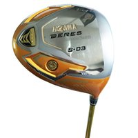 Wholesale free golf club drivers resale online - New Golf clubs S driver Star or loft HONMA Golf driver Graphite shaft R or S Golf shaft