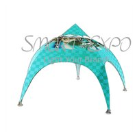 Outdoor Pentagram Canopy Tent Spider Arch Tent for Event Advertising with Customized Logo Printing Wheeled Bag Packing