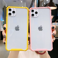 Wholesale clear simple iphone case online – custom Transparent Shockproof Phone Case For iPhone Plus Simple Clear Acrylic Cover For iPhone Pro Max X XS XR Xs Max