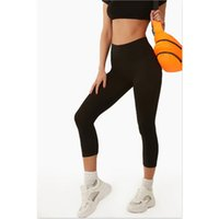 Wholesale capri length yoga pants for sale - Group buy Women Sports Pants Capri Length High Waist Yoga Pants Plus Size Yoga Capri Sport Leggings Fitness Wear Running Tights