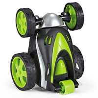 Wholesale wireless love toys for sale - Group buy Wireless remote control tumbling stunt car dump truck children love toys hot electric toy explosion models welcome to order